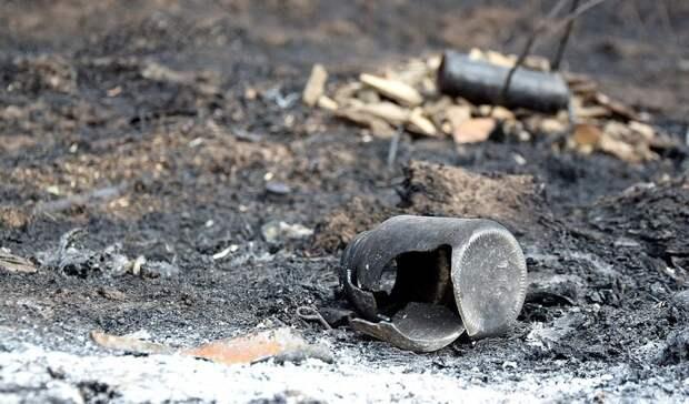 Пожарные спасли жителя Волгоградской области из горящего дачного дома