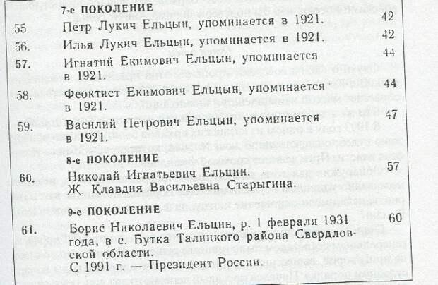 Кем был отец Бориса Ельцына