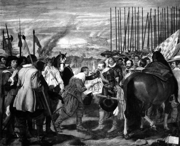 Диего Веласкес. «Сдача Бреды» (1635)