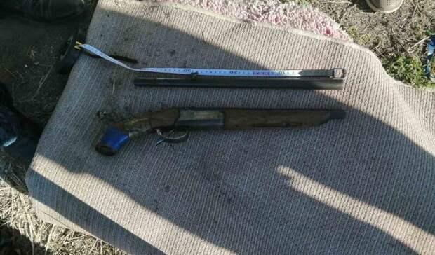 У жителя Акбулакского района изъяли обрез самодельного ружья