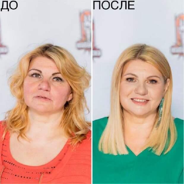 Правильный макияж и прическа творят чудеса: 22 потрясающих фото до и после