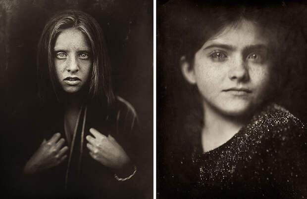 Фотограф делает мрачные портреты с помощью 170-летнего метода съемки