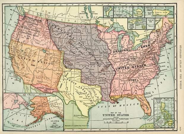 Не только Аляска: Как США штат за штатом скупали себе территории