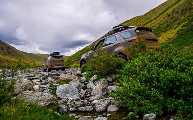 Новый Land Rover Discovery - проверка российским бездорожьем