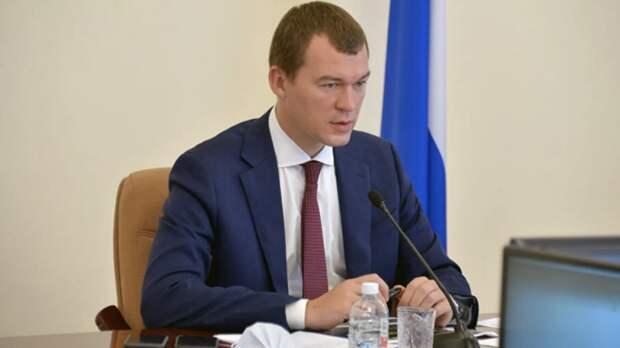 Дегтярёв сформировал команду для управления Хабаровским краем