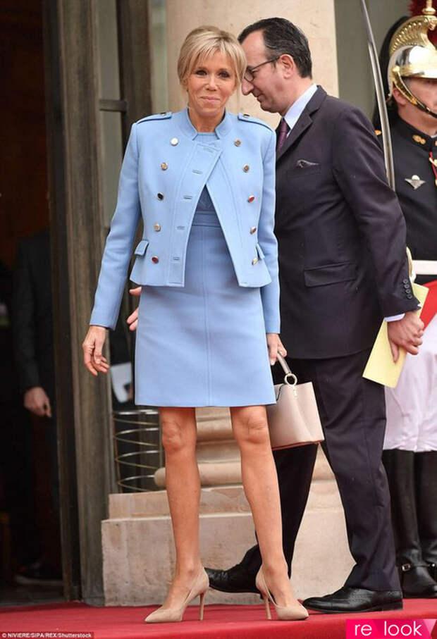 Брижит Макрон: стиль первой леди Франции..