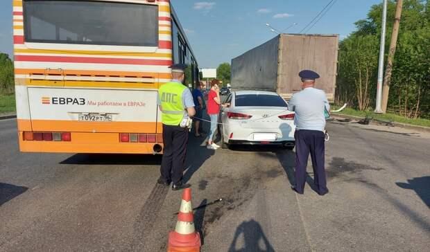 Стали известны детали ДТП савтобусом наВосточном шоссе вНижнем Тагиле
