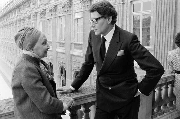 Мадам Гре и Ив Сен-Лоран, 1984