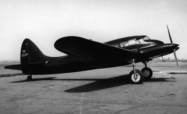 Последний самолёт Локхида: Alcor C-6-1 Junior Transport