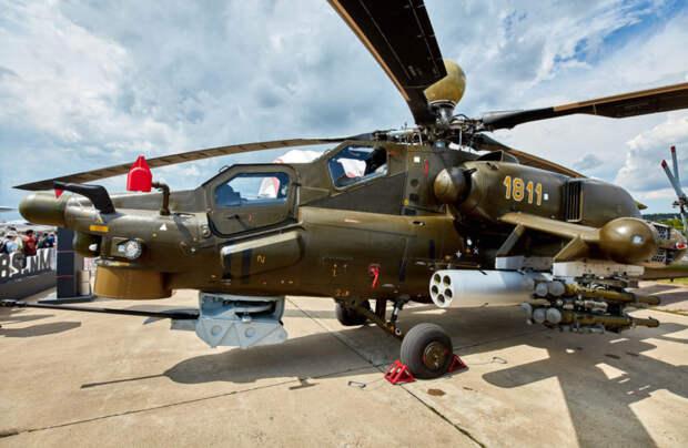 Вертолет Ми-28НМ покажет элементы воздушного боя на МАКС-2021