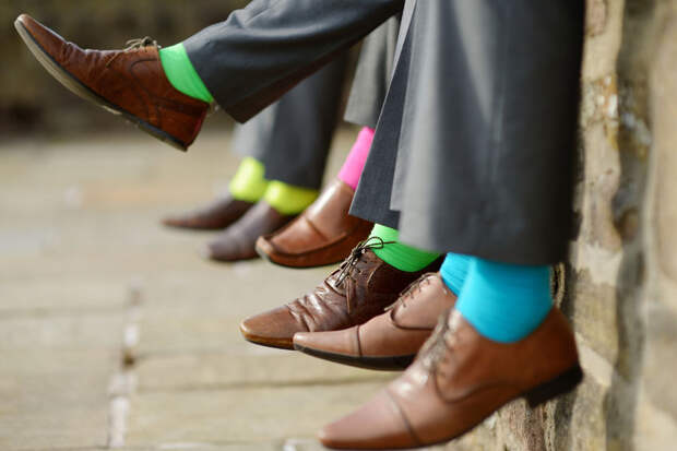 Московское метро подарит мужчинам носки
