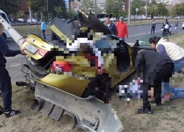 Три человека погибли в ДТП в Краснодаре