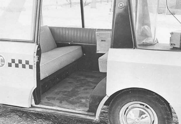 Экспериментальное советское такси 1964 года: ВНИИТЭ-ПТ  авто, история, ссср, факты