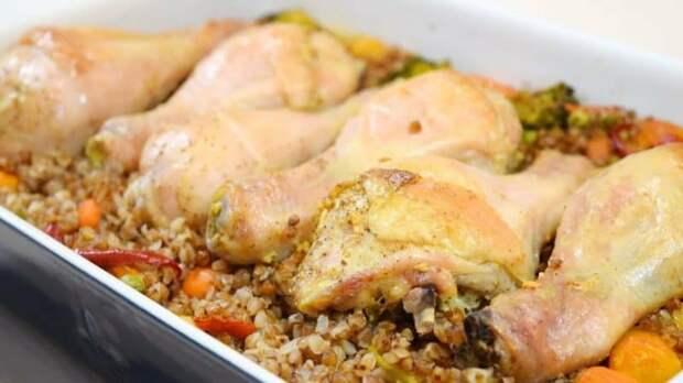 Перловка с курицей в духовке: сытное блюдо для всей семьи.