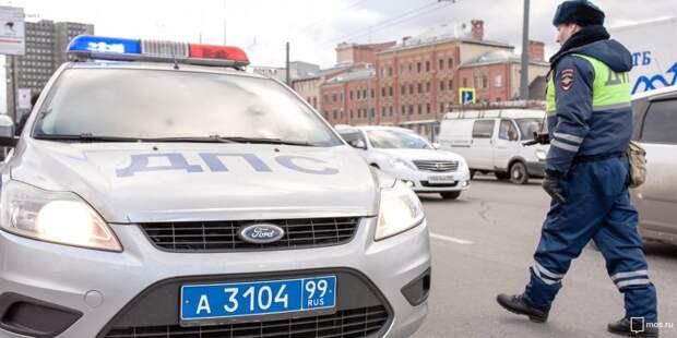 Машины столкнулись на МКАДе перед Ленинградкой
