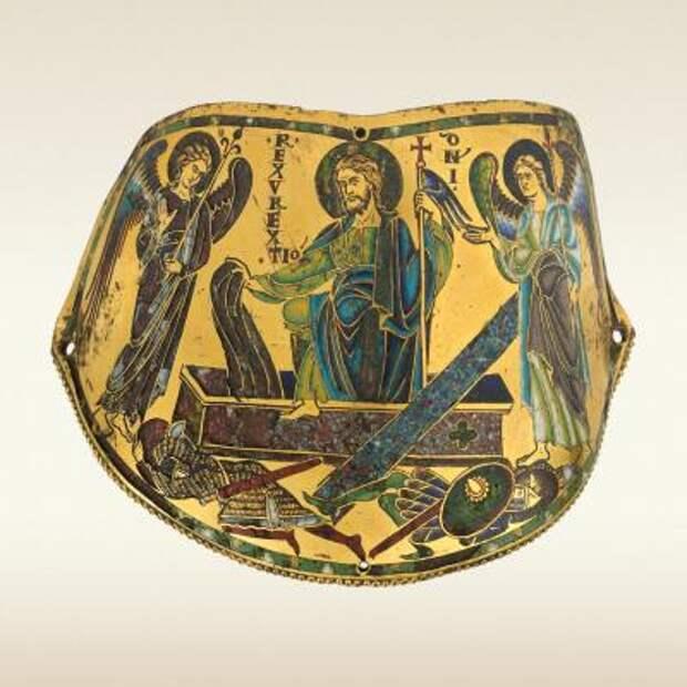 Наплечник (армилла) «Воскресение Христово». Около 1170–1180