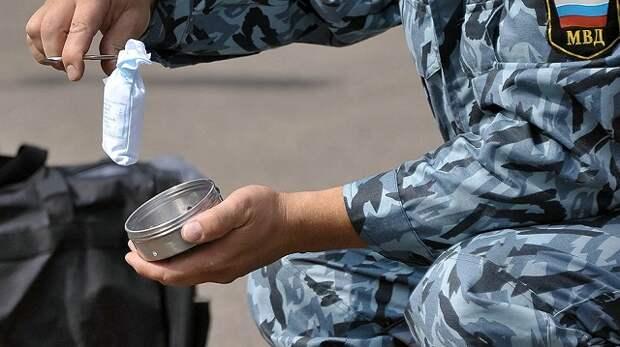На Кубани полицейского заподозрили в хранении наркотиков