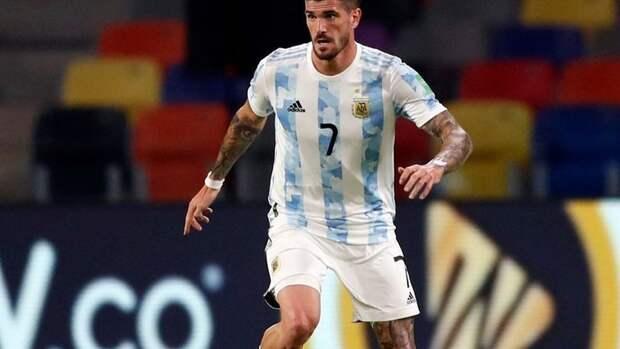 ДеПауль отправился намедобследование перед переходом в «Атлетико»