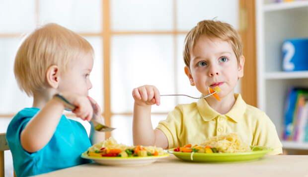 еда в детском саду