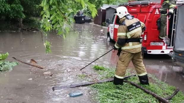 Штормовое предупреждение из-за ливней объявили вРостовской области на9июня