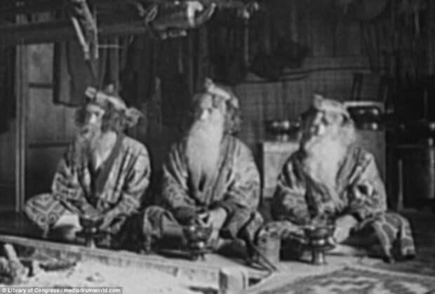 Три старейшины народа айнов айны, история, народ, фотография