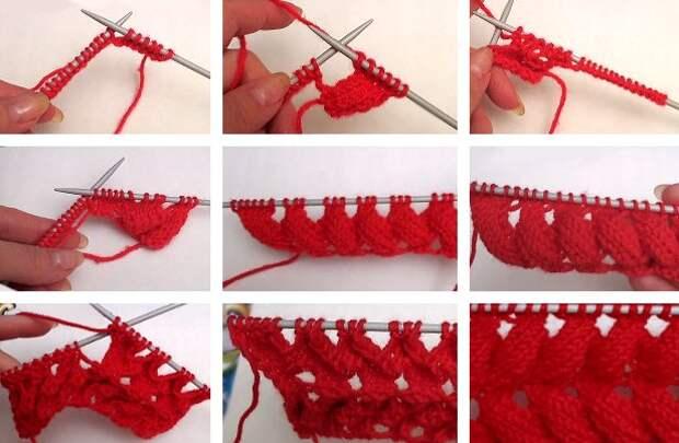 Прямо как облако: узор «азиатский колосок» для вязания воздушных вещей