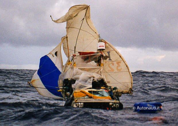 6 атмосферных фото чуваков, которые пересекли Атлантический океан на машине