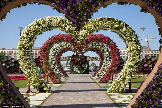 Парк «Сад чудес» в Дубае