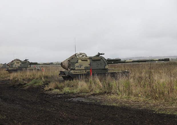 В Сибири более 100 тактических учений провели артиллеристы ЦВО в ходе зимнего периода обучения