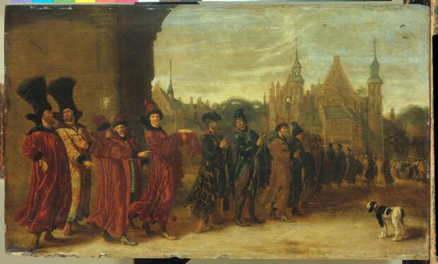 Московиты в Гишпании. 1668 г.