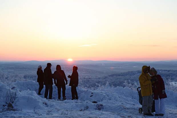 Где в России самая длинная полярная ночь?