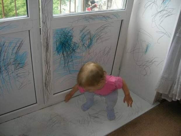 Вот что будет, если дать ребенку волю. Смех сквозь слезы гарантирован!