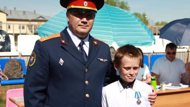 Юный пермяк удостоен награды СКР за «Доблесть и отвагу»