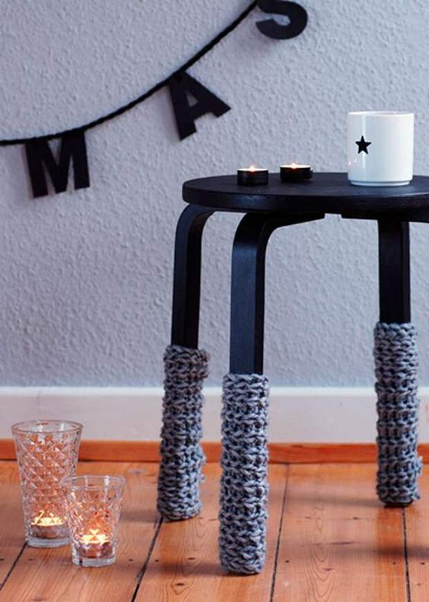 Креативные идеи по переделке скучного табурета из IKEA