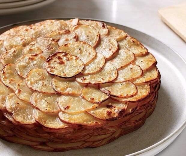 Картофель «Буланжер» еда, картофель