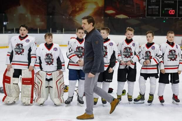 Бывший игрок КХЛ создал в Строгине детскую хоккейную команду