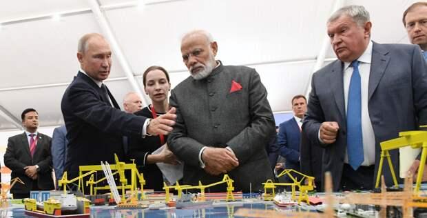 Индия, Россия и Индо-Тихоокеанский регион сотрудничества. Или соперничества?