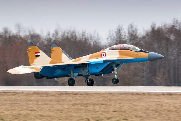 Первый МиГ-29М2 для ВВС Египта