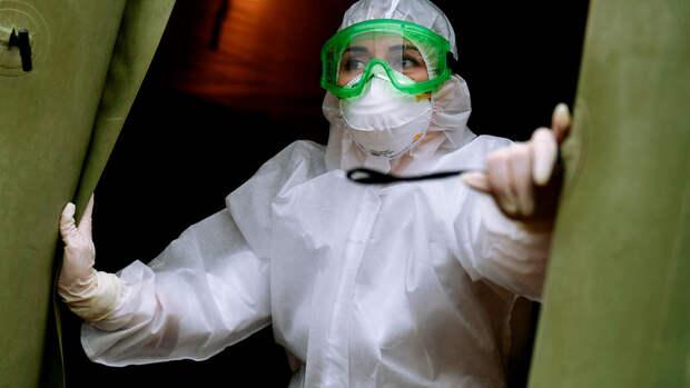 В России выявили 8 840 новых случаев коронавируса