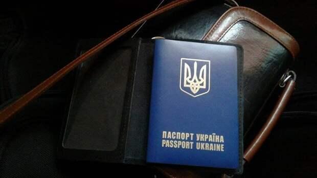 Харьковчанка с детьми выкинула украинские паспорта в траву