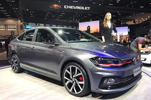 Новый седан Volkswagen Polo: теперь и спортивная версия
