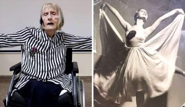 Балерина с болезнью Альцгеймера вспоминает, как танцевала в 1967 году
