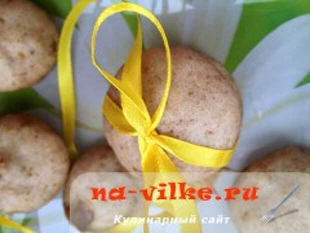 Медовые пряники с грецким орехом в пароварке