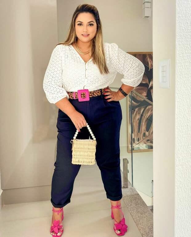 Что надеть весной женщине plus-size, чтобы выглядеть стильно и привлекательно