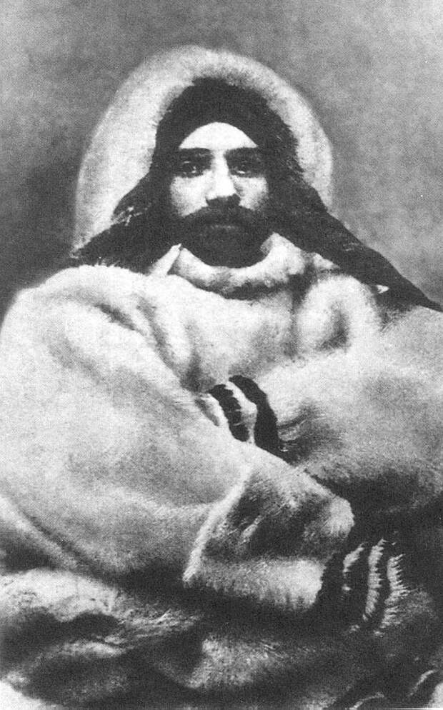 Александр Васильевич Колчак на зимовке у полуострова Таймыр. Источник: wikipedia.org