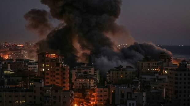 ХАМАС выпустил 50 ракет по городам Израиля