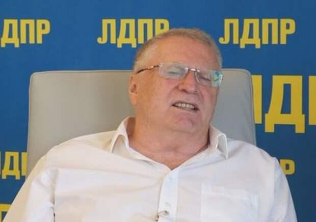 Жириновский рассказал анекдот про бабушку Меркель. ВИДЕО