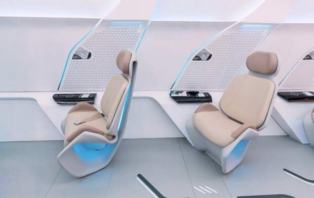 Images of Virgin Hyperloop One's prototype pod show a very spacious cabin