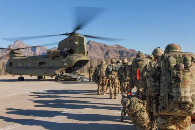 WSJ: США планируют перебросить войска из Афганистана ближе к российским границам
