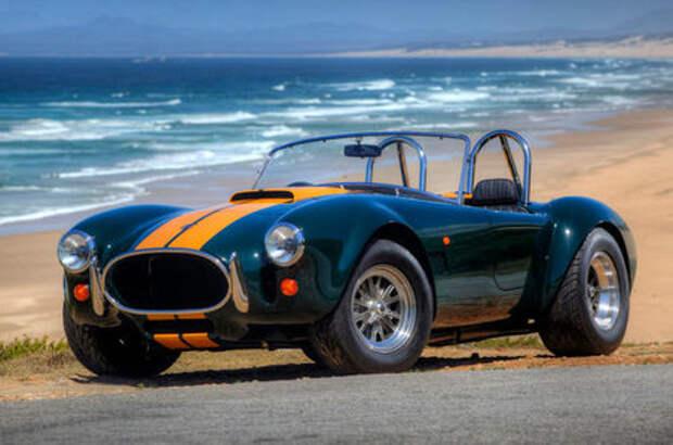Самый прекрасный автомобиль на свете: встречайте возрожденную AC Cobra